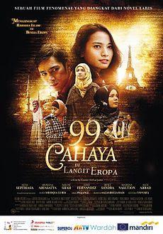 Poster Film 99 Cahaya Di Langit Eropa