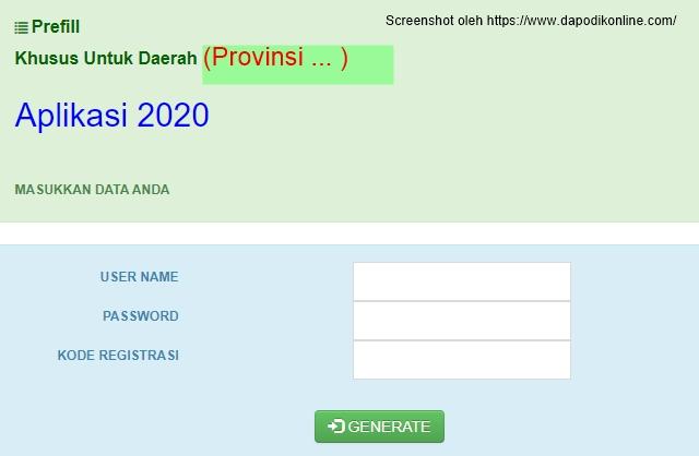 Daftar Link Download Prefill Dapodik Versi 2020 dan Prefill Rapor SD-SMP-SMA-SMK Seluruh Indonesia dan Luar Negeri
