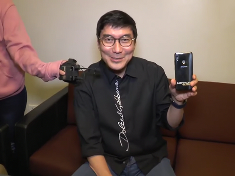 "Mr. Tulfo with the ""Tulfone"""
