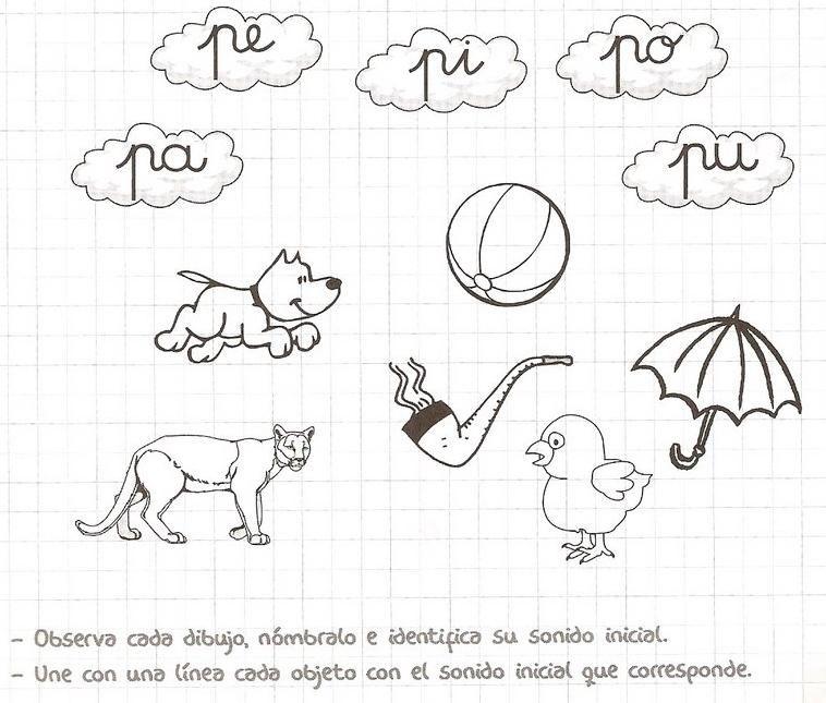 best Dibujos Para Pintar Que Empiecen Con La Letra P image collection