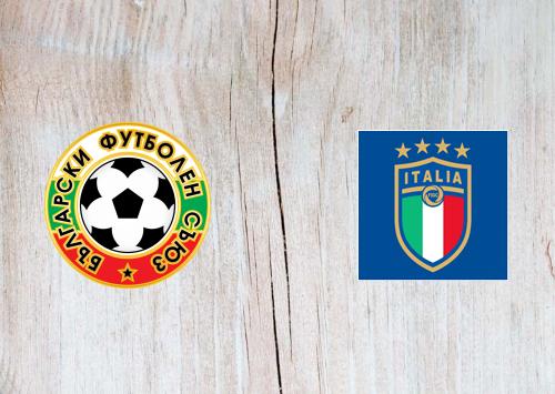 Bulgaria vs Italy -Highlights 28 March 2021