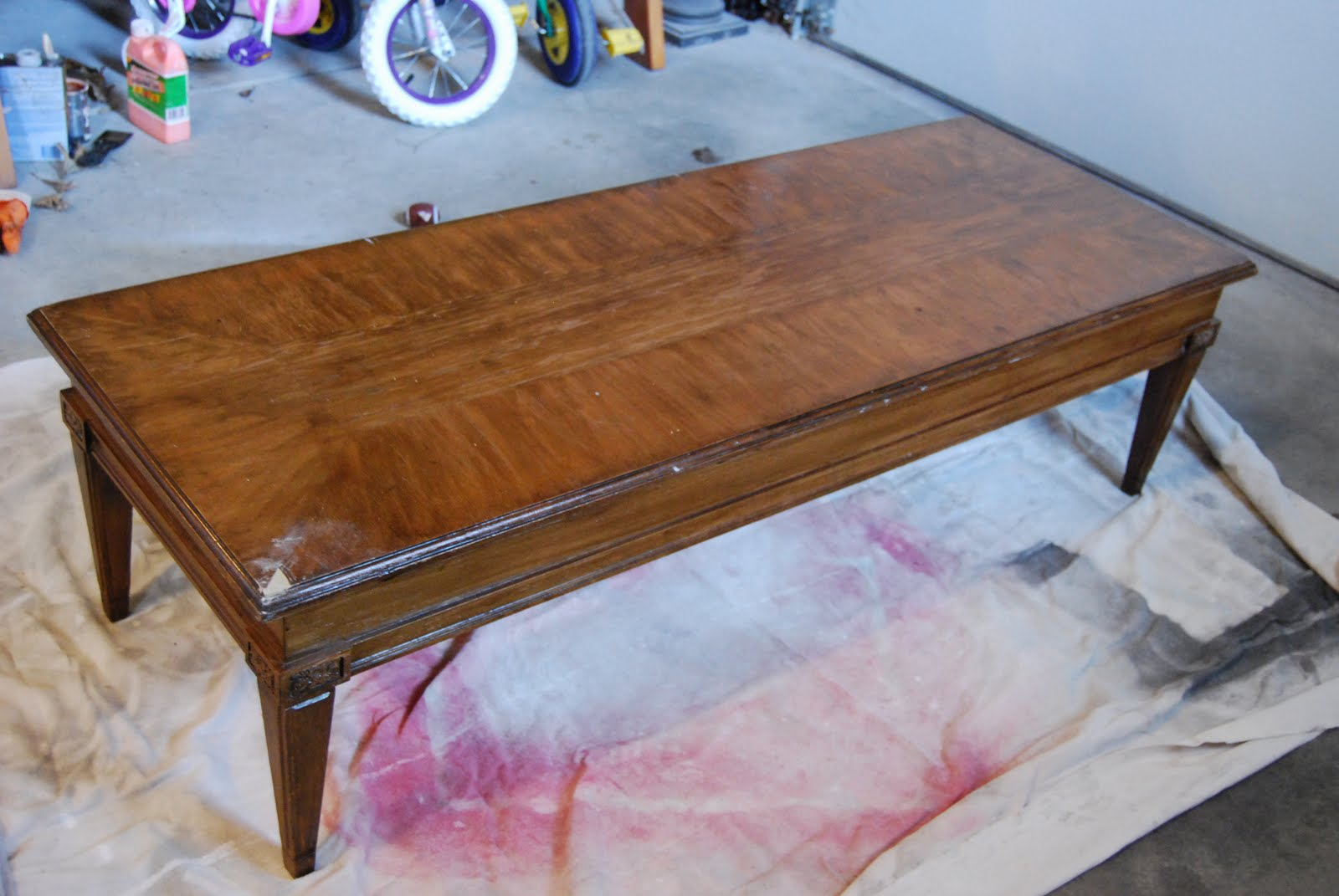 Inspired by you: Coffe table turned bench