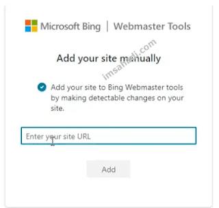 Add URL Blog