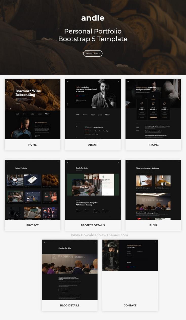 Personal Portfolio Bootstrap 5 Template