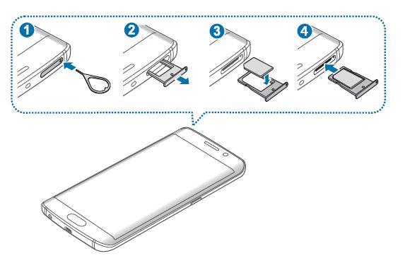 Come inserire SIM Samsung Galaxy S6