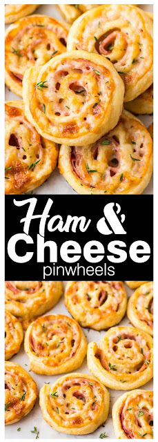 Delicious #Ham and #Cheese Pinwheels #Recipe