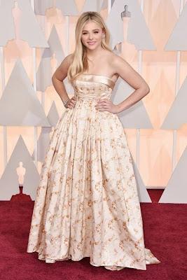 Chloe Moretz Oscars 2015