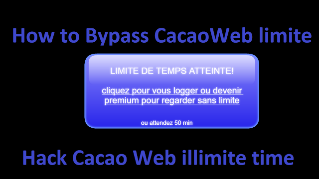 hacker compte premium cacaoweb