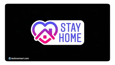instagram stay home stickers on coronavirus outbreak