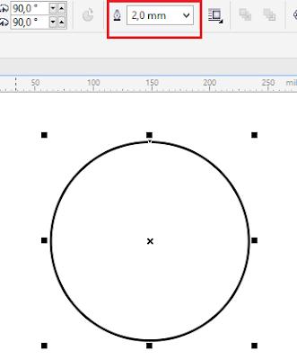 Cara Membuat Foto Menjadi Bulat Di Coreldraw : membuat, menjadi, bulat, coreldraw, MEMBUAT, STEMPEL, KURANG, MENIT, COREL, HALAMAN, TUTOR