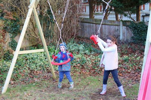 Twisty Swings and Garden Games - The Ordinary Moments