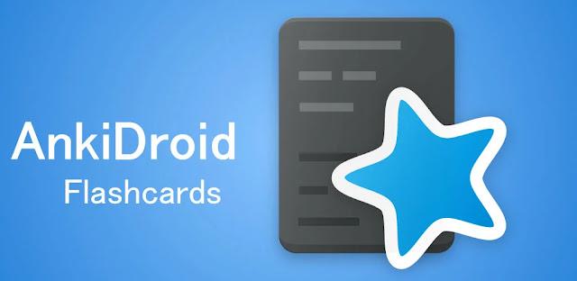 تنزيل AnkiDroid Flashcards  تطبيق لإدارة واستخدام بطاقات فلاش للأندرويد