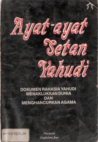 buku tentang konspirasi elit global yahudi israel
