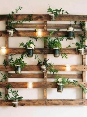 idées de jardin d'herbes arriere