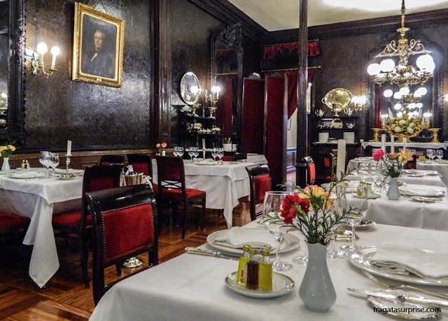 Tradicional restaurante Lhardy, em Madri