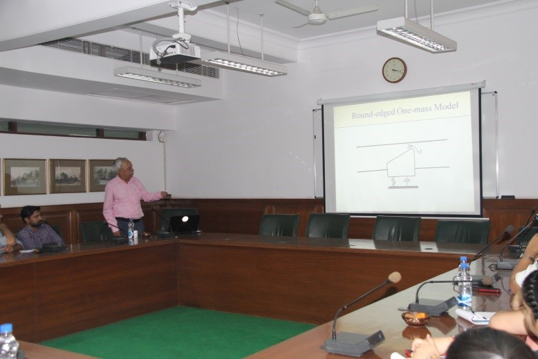 The Northcap University, Gurgaon- Blog: Guest Lecture Prof