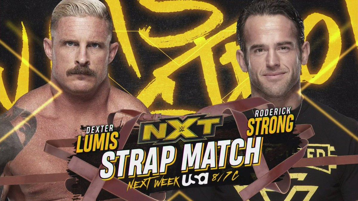 Grandes combates são anunciados para o próximo episódio do NXT