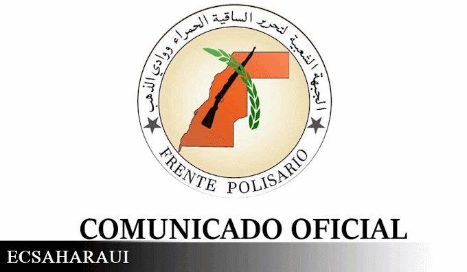 🟤 Comunicado oficial del Frente Polisario.