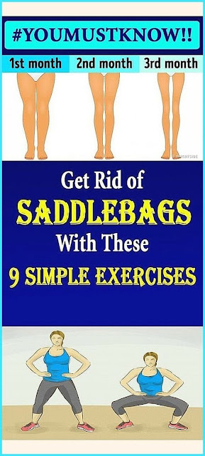 Get Rid of Saddlebags With These 9 Simple Exercises