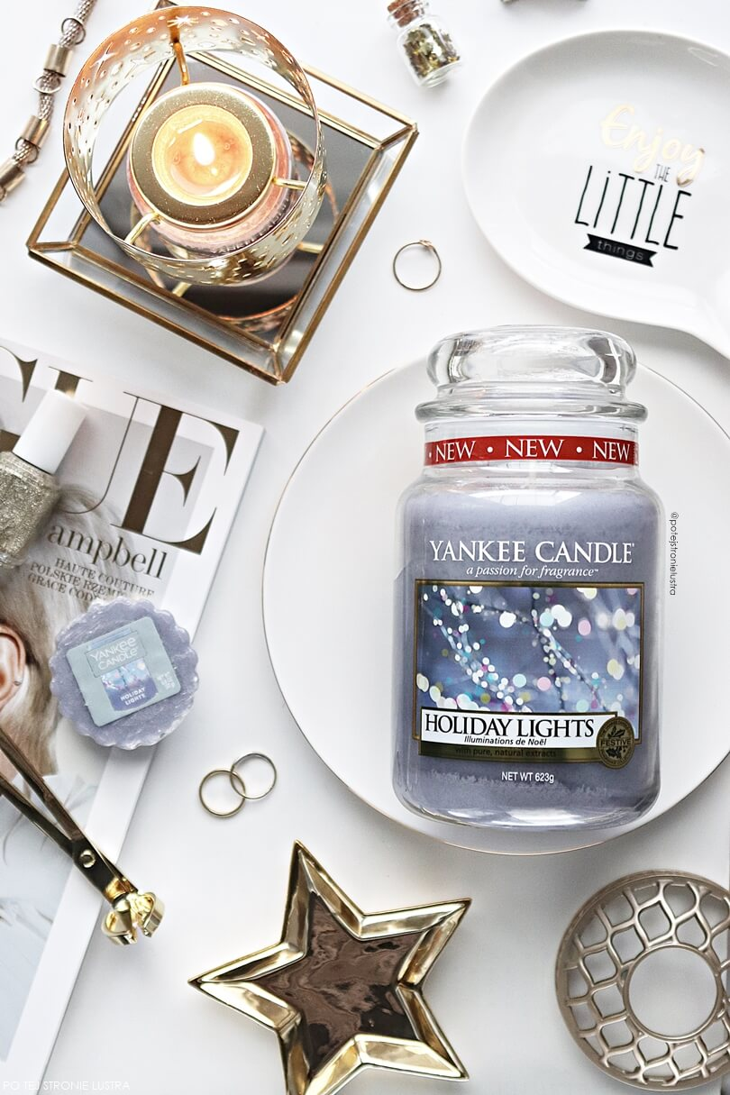 yankee candle holiday lights limitowany zapach na święta 2018