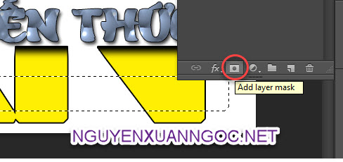 add layer mark trong photoshop