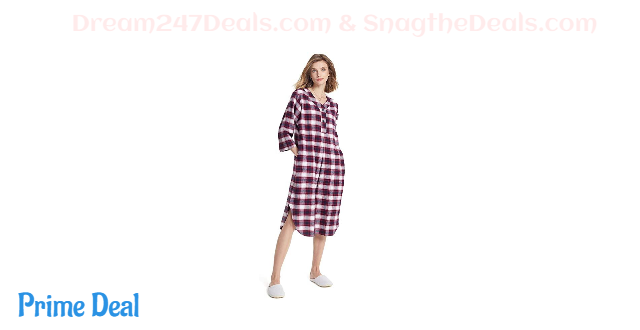 Women's Flannel Nightgown 50% OFF
