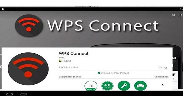 Aplikasi Bobol Sandi Wifi - WPS Connect Wifi