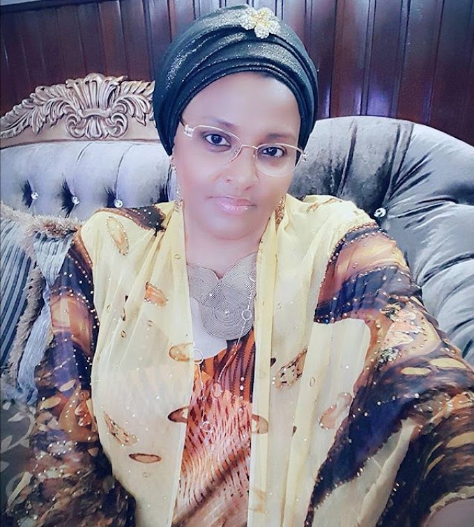 Abacha's Daughter Joins The Biggest Blog Fight Ever