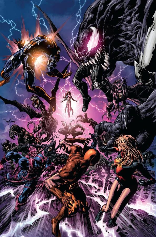 dark avengers assemble marvel comics morgana le fay latveria castle doom ares bullseye daken karla sofen noh-varr norman osborn iron patriot venom brian michael bendis mike deodato jr.