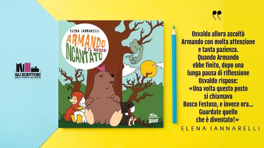 Armando e il bosco incantato, un libro per bambini di Elena Iannarelli