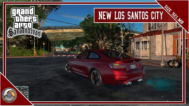 GTA San Andreas New Los Santos City Mod Pack 2022