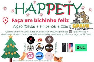 """Campanha """"Happetty - Faça Um Bichinho Feliz!!!"""""""