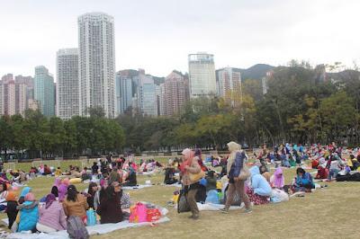 Buruh Migran Indonesia di Hong Kong Meriahkan Acara 17an