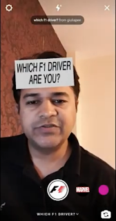 Which F1 driver are you Filter Instagram - Cara dapatkan Which F1 Driver are you filter Instagram