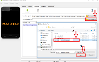 Cara Flash Evercoss AT1G Dengan Flashtool