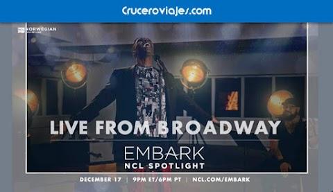 Norwegian Cruise Line, primer episodio de EMBARK – The Series