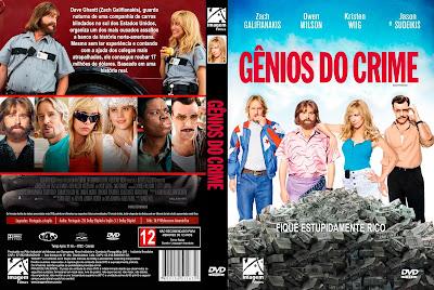 Filme Gênios do Crime (Masterminds) DVD Capa
