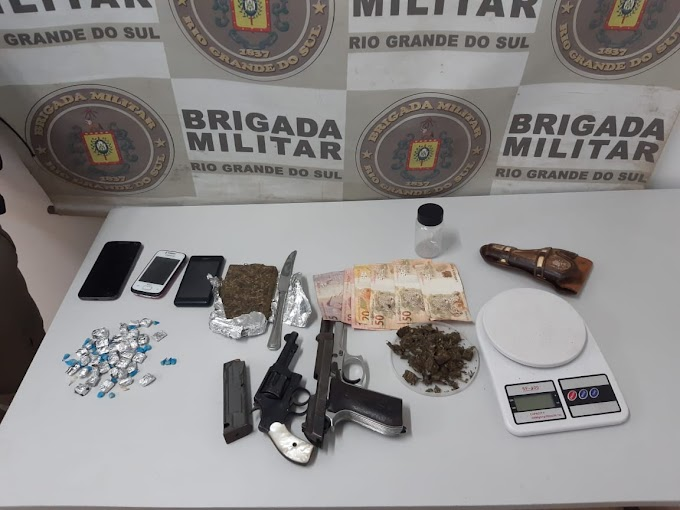 Brigada Militar prende dupla por tráfico no bairro Neópolis em Gravataí