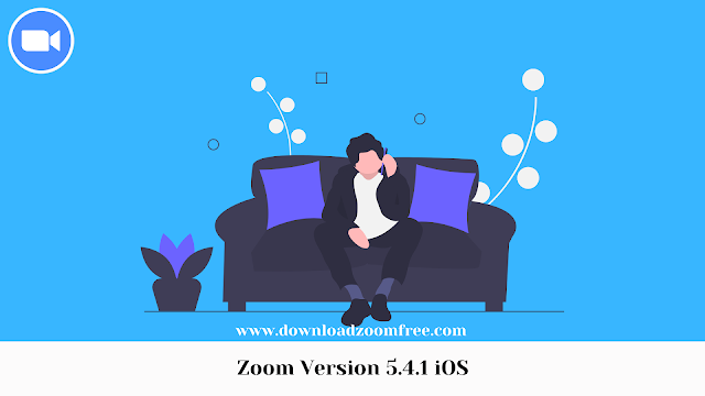 Zoom Version 5.4.1 iOS