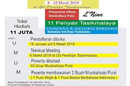 Lomba Musikalisasi Puisi Indonesia Tahun 2019