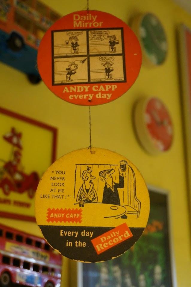 vintage andy capp coaster