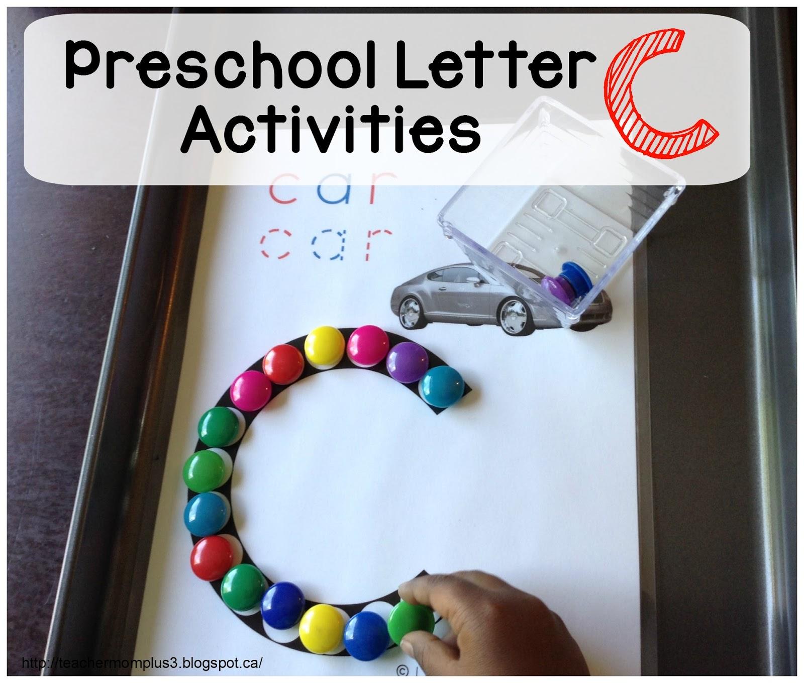 Teachermomplus3 Preschool Letter C Activities