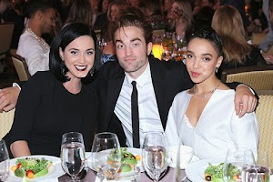Katy Perry, Robert Pattinson and FKA Twigs at GO Campaign Gala
