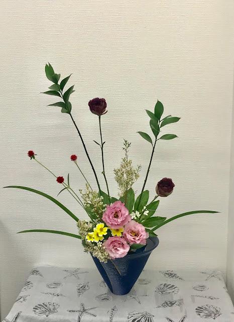 神戸店 10月の生け花 ~その2~