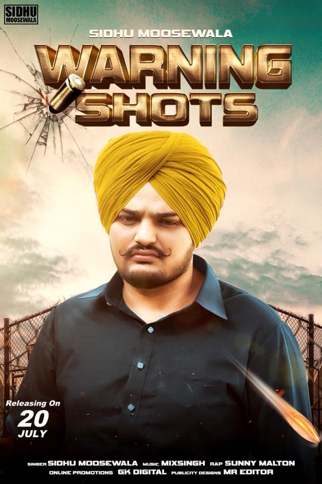 Warning Shots    Sidhu Moosewala  new song