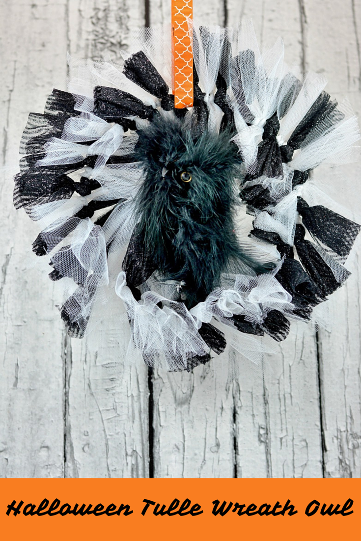 now without further ado introducing our halloween tulle wreath owl with my obsession with owls itu0027s no wonder itu0027s one of my favorite