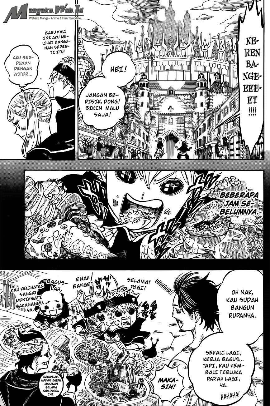 Black Clover Chapter 22 Berkumpul di Kastil