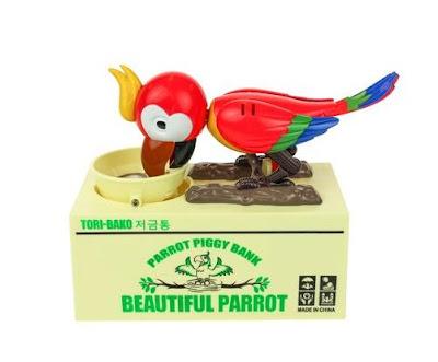 Parrot Coin Bank