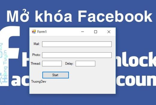 Share Tool Spam Unlock Mạo danh Facebook hổ trợ reset IP