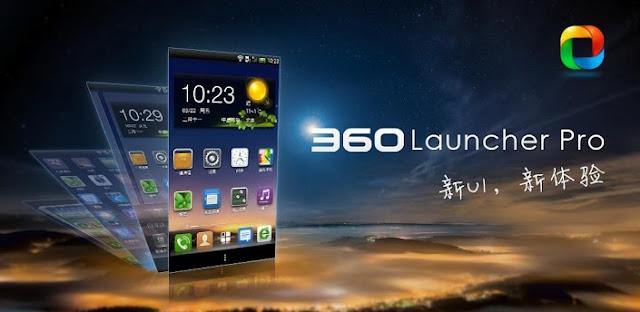 360 Launcher Pro v5.1.1 APK Free Download